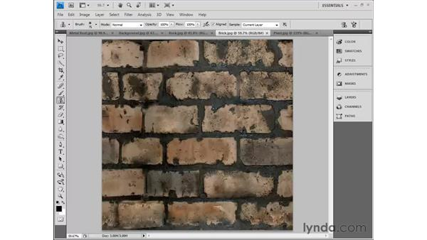 Using Photoshop to edit maps: 3ds Max 2010 Essential Training