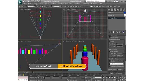 Using clipping planes: 3ds Max 2010 Essential Training