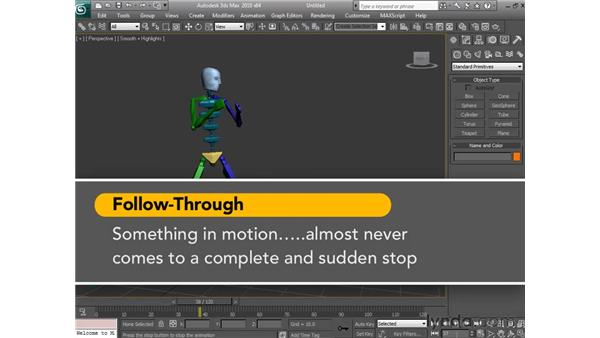 Understanding the principles of animation: 3ds Max 2010 Essential Training