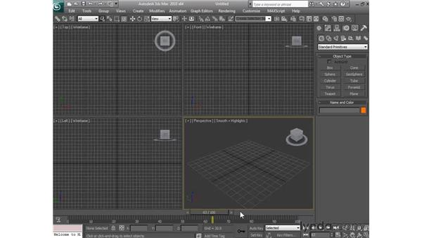 Controlling animation: 3ds Max 2010 Essential Training