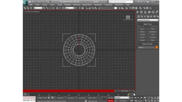 Animating with set key: 3ds Max 2010 Essential Training