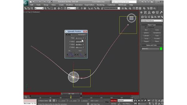 Using the Curve Editor: 3ds Max 2010 Essential Training
