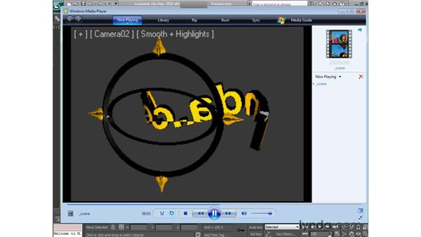 Creating previews: 3ds Max 2010 Essential Training