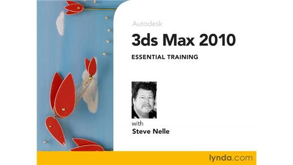 Goodbye: 3ds Max 2010 Essential Training