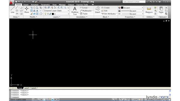 Accessing favorite tools with the Quick Access toolbar: AutoCAD 2010 New Features