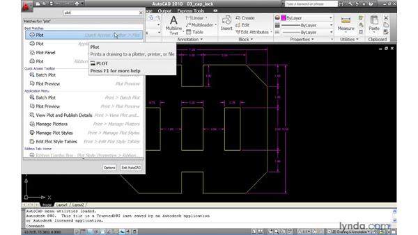 Introducing the Application menu: AutoCAD 2010 New Features