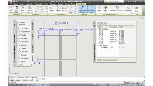 autocad dynamic block tutorial pdf