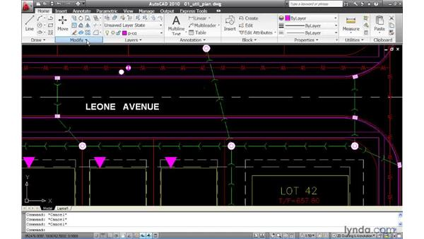 Reversing the direction of line work: AutoCAD 2010 New Features