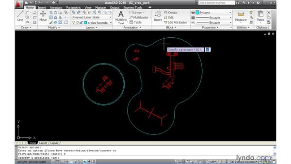 Converting splines to polylines: AutoCAD 2010 New Features