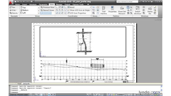 Rotating geometry inside viewports: AutoCAD 2010 New Features