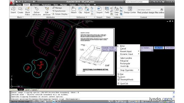 Using common tools to manage referenced files: AutoCAD 2010 New Features
