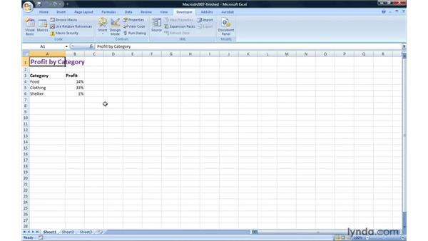 Creating macro-enabled workbooks and templates: Migrating from Excel 2003 to Excel 2007