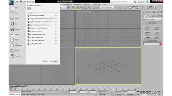 Setting a project folder: 3ds Max 2010: Lighting and Rendering with mental ray