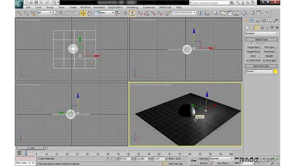 Understanding local illumination: 3ds Max 2010: Lighting and Rendering with mental ray
