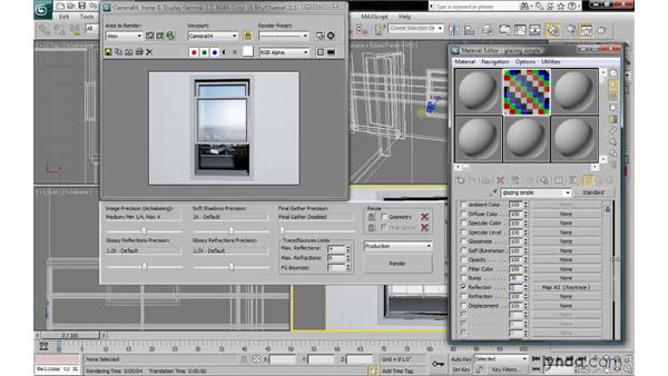 Setting simple transparency: 3ds Max 2010: Lighting and Rendering with mental ray
