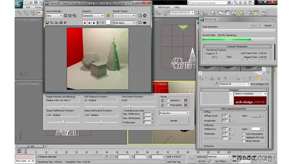 Understanding the pros and cons of mental ray materials: 3ds Max 2010: Lighting and Rendering with mental ray