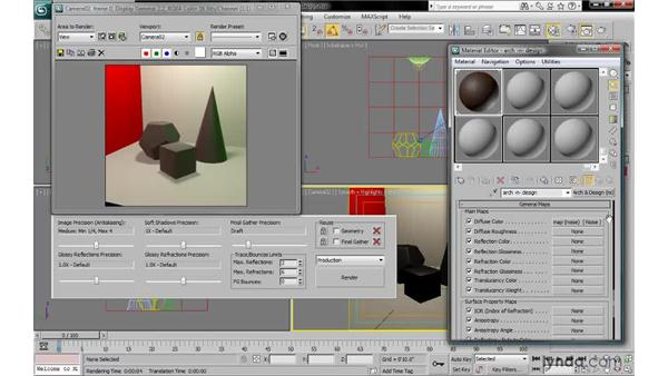 Learning from the Arch & Design templates: 3ds Max 2010: Lighting and Rendering with mental ray