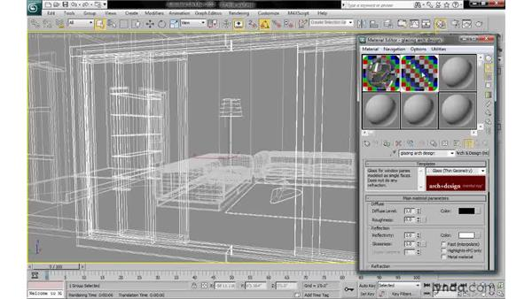 Rendering thin wall reflections: 3ds Max 2010: Lighting and Rendering with mental ray