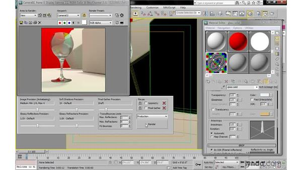 Controlling BRDF: 3ds Max 2010: Lighting and Rendering with mental ray