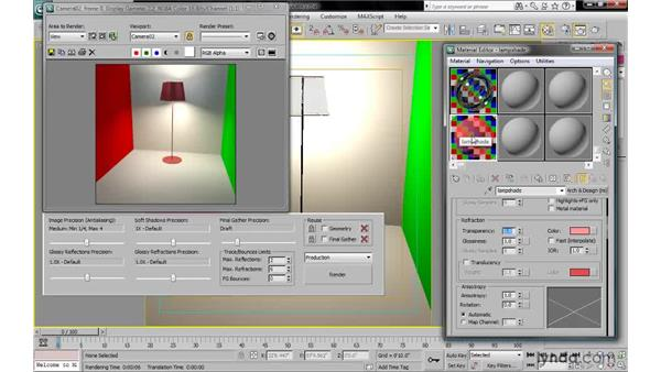 Rendering translucency: 3ds Max 2010: Lighting and Rendering with mental ray