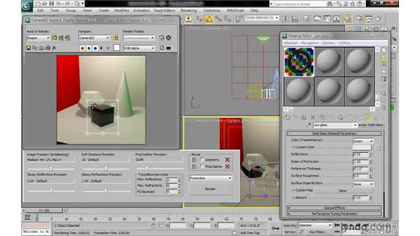 Using ProMaterials: 3ds Max 2010: Lighting and Rendering with mental ray