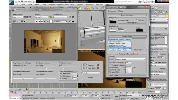 Understanding mr photographic exposure control: 3ds Max 2010: Lighting and Rendering with mental ray