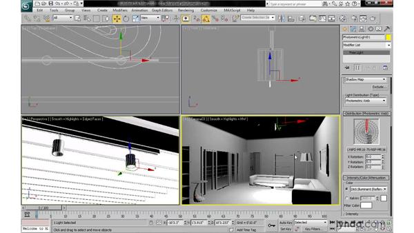 Installing and using photometric .IES files: 3ds Max 2010: Lighting and Rendering with mental ray