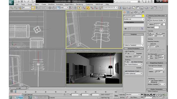 Emitting light from shape: 3ds Max 2010: Lighting and Rendering with mental ray