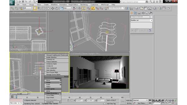 Controlling shadows via object properties: 3ds Max 2010: Lighting and Rendering with mental ray