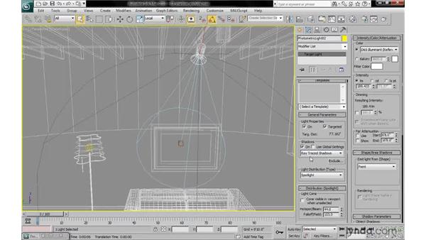 Controlling shadows via light exclusion: 3ds Max 2010: Lighting and Rendering with mental ray