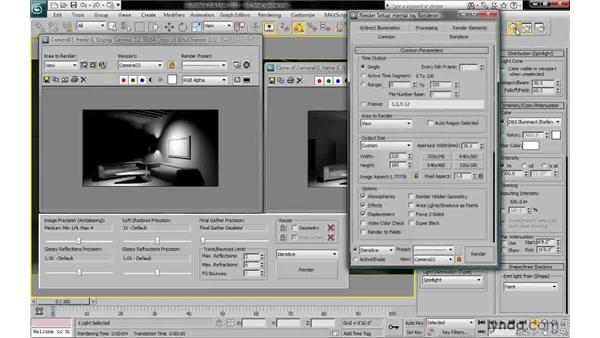 Understanding final gather: 3ds Max 2010: Lighting and Rendering with mental ray