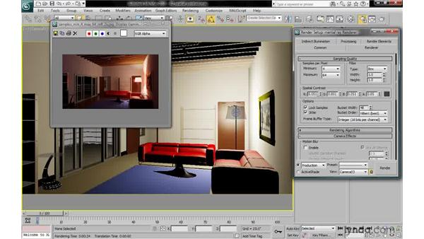 Understanding spatial contrast settings: 3ds Max 2010: Lighting and Rendering with mental ray
