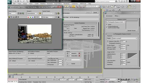 Setting the exposure whitepoint: 3ds Max 2010: Lighting and Rendering with mental ray