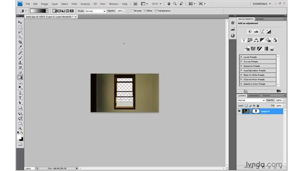 Converting the alpha channel to a Photoshop layer mask: 3ds Max 2010: Lighting and Rendering with mental ray