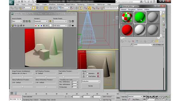 Enabling AO in the arch & design material: 3ds Max 2010: Lighting and Rendering with mental ray