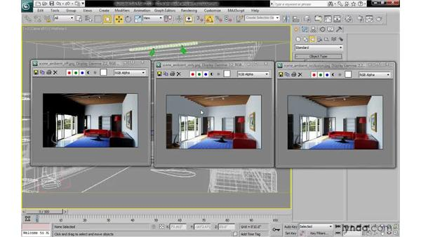 """Understanding the need for a """"poor man's global illumination"""": 3ds Max 2010: Lighting and Rendering with mental ray"""