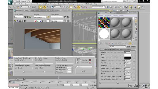 Setting max distance and falloff: 3ds Max 2010: Lighting and Rendering with mental ray