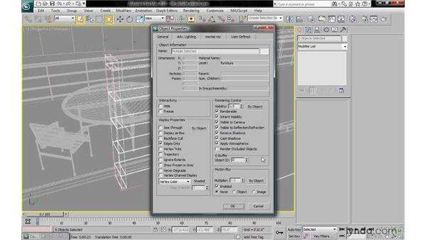 Excluding transparent and self-illuminated objects: 3ds Max 2010: Lighting and Rendering with mental ray