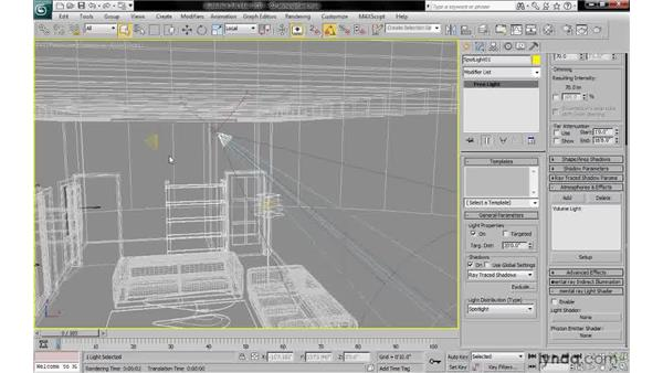 Adding a volume light atmosphere: 3ds Max 2010: Lighting and Rendering with mental ray