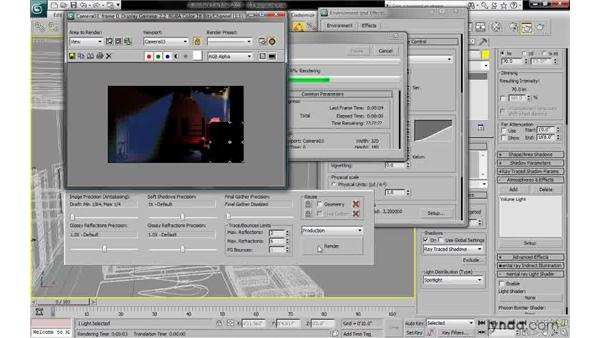 """Setting exposure physical scale to """"unitless"""": 3ds Max 2010: Lighting and Rendering with mental ray"""