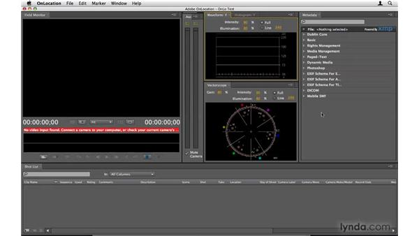 Working with OnLocation: Premiere Pro CS4 Beyond the Basics