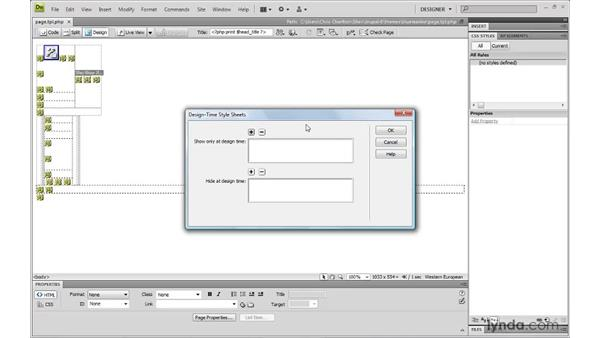 Working with Dreamweaver: Drupal 6: Creating and Editing Custom Themes