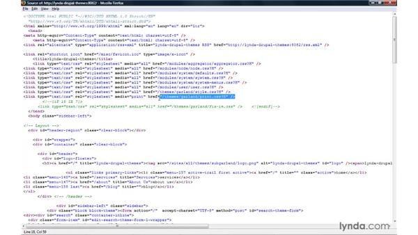 Building a sub-theme: Adding custom styles (CSS): Drupal 6: Creating and Editing Custom Themes