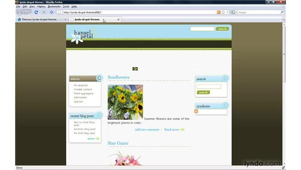 Adding graphics and images to a theme: Drupal 6: Creating and Editing Custom Themes