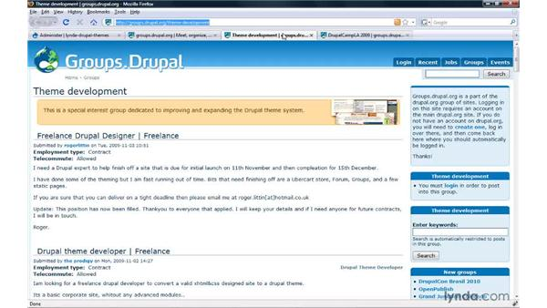 Touring Drupal community groups: Drupal 6: Creating and Editing Custom Themes