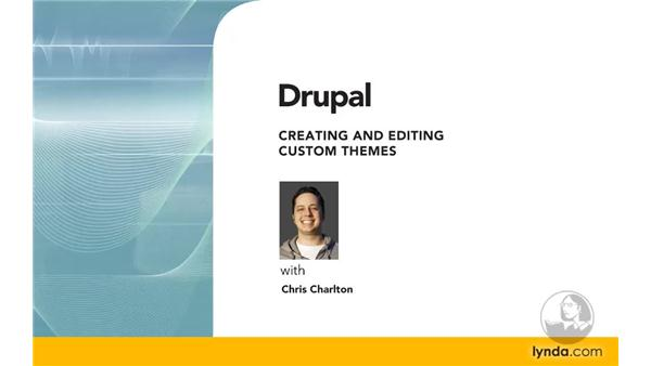 Goodbye: Drupal 6: Creating and Editing Custom Themes
