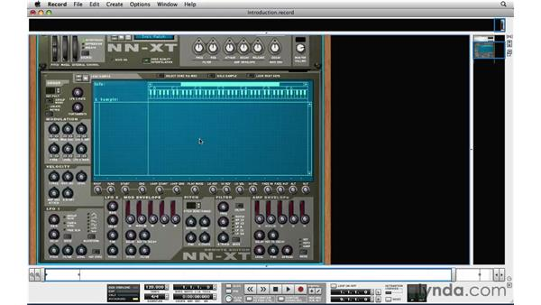 Understanding the NN-XT sampler and its role in live performance: Reason and Record for Live Performance