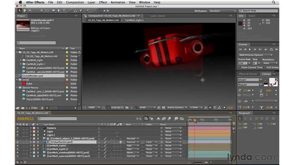 Exploring new features in R11.5: CINEMA 4D R11.5 Essential Training
