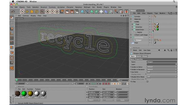 Understanding 3D: CINEMA 4D R11.5 Essential Training