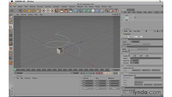Duplicate: CINEMA 4D R11.5 Essential Training